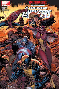 Cover Thumbnail for Los Nuevos Vengadores, the New Avengers (Editorial Televisa, 2006 series) #31