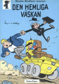 Cover Thumbnail for Starke Staffans äventyr (Carlsen/if [SE], 1977 series) #3 - Den hemliga väskan