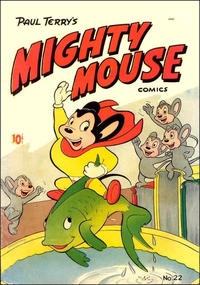 Cover Thumbnail for Paul Terry's Mighty Mouse Comics (St. John, 1951 series) #22 [36-pages]