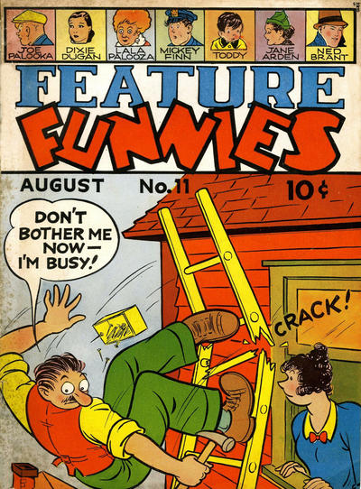 Cover for Feature Funnies (1937 series) #11