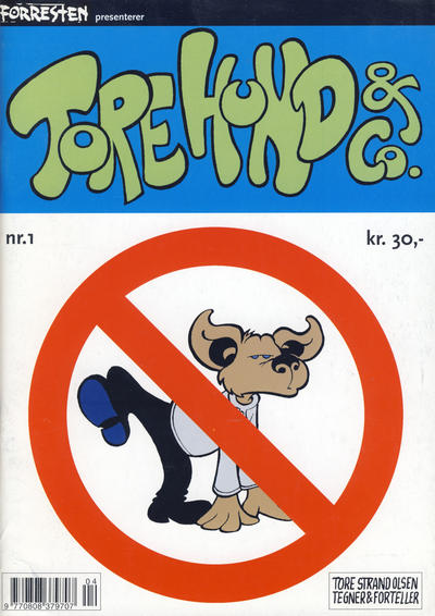 Cover for Forresten presenterer Tore Hund & Co (1998 series) #1