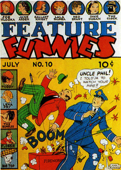 Cover for Feature Funnies (1937 series) #10