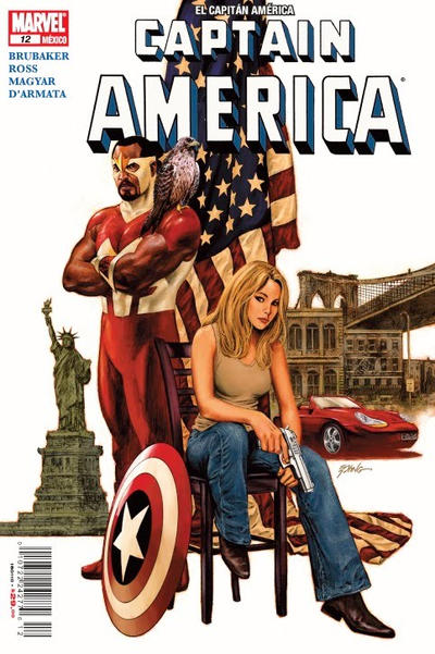 Cover for El Capitán América, Captain America (Editorial Televisa, 2009 series) #12