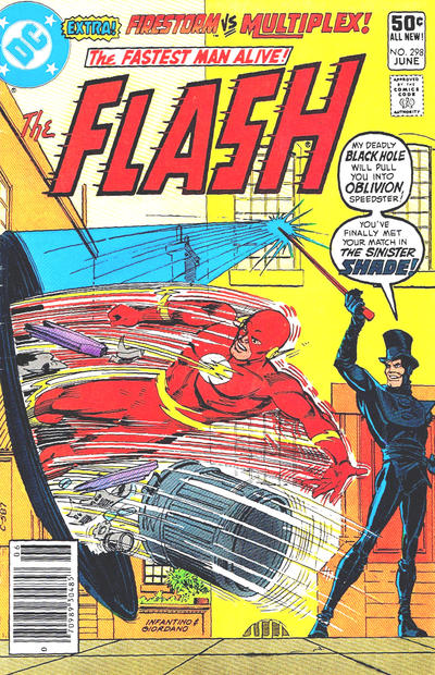 Cover for The Flash (DC, 1959 series) #298