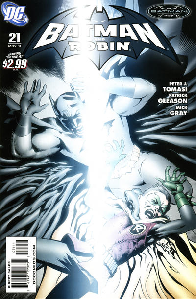 Cover for Batman and Robin (2009 series) #21 [Tony S. Daniel Variant Cover]