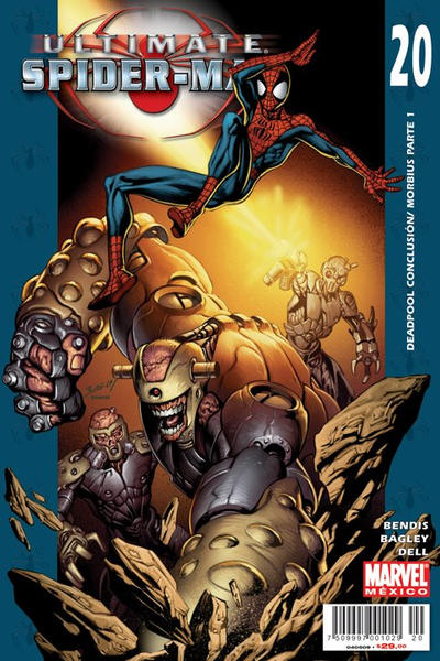 Cover for Ultimate Spider-Man (2007 series) #20