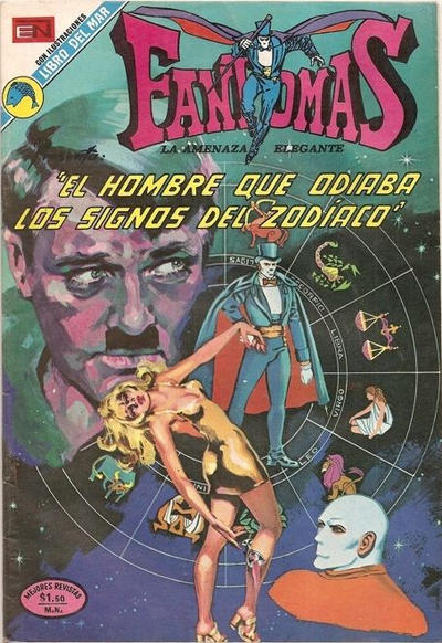 Cover for Fantomas (1969 series) #126