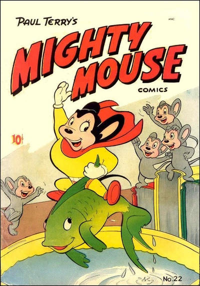 Cover for Paul Terry's Mighty Mouse Comics (St. John, 1951 series) #22 [36-pages]