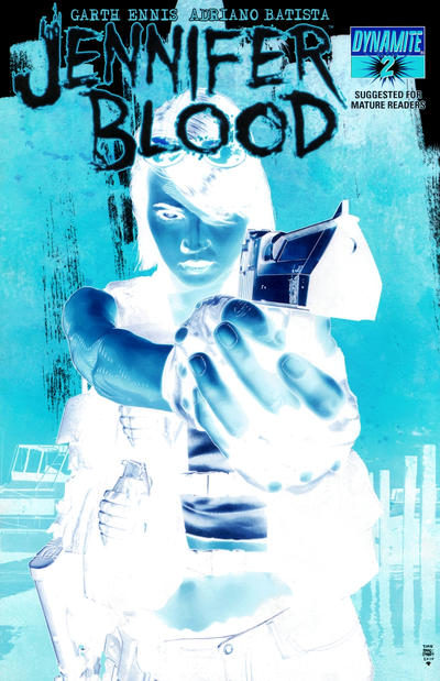 Cover for Jennifer Blood (Dynamite Entertainment, 2011 series) #2 [Timothy Bradstreet Main Cover]
