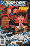 Cover for Star Trek: The Next Generation (DC, 1989 series) #32 [Newsstand]