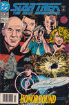 Cover for Star Trek: The Next Generation (DC, 1989 series) #29 [Newsstand]