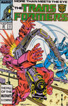 Cover for The Transformers (Marvel, 1984 series) #35 [Direct]