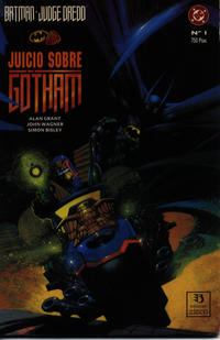 Cover Thumbnail for Batman/Juez Dredd: Juicio sobre Gotham (Zinco, 1992 series)