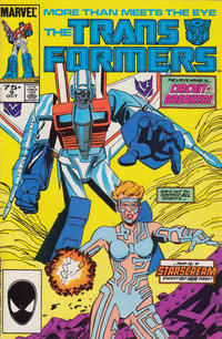 Cover Thumbnail for The Transformers (Marvel, 1984 series) #9 [2nd Printing]