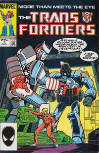 Cover Thumbnail for The Transformers (Marvel, 1984 series) #7 [Third Printing]