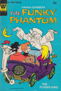 Cover Thumbnail for Hanna-Barbera The Funky Phantom (Western, 1972 series) #10 [Whitman Variant]