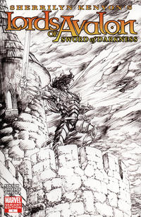 Cover Thumbnail for Lords of Avalon: Sword of Darkness (Marvel, 2008 series) #1 [Sketch Variant Edition]