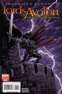 Cover Thumbnail for Lords of Avalon: Sword of Darkness (Marvel, 2008 series) #1 [Variant Edition]