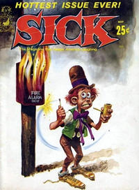 Cover Thumbnail for Sick (Prize, 1960 series) #36