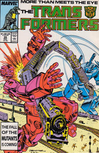 Cover Thumbnail for The Transformers (Marvel, 1984 series) #35 [Direct]