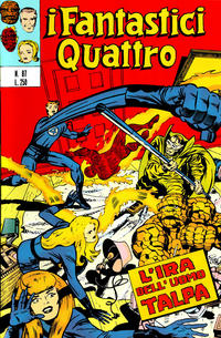 Cover Thumbnail for I Fantastici Quattro (Editoriale Corno, 1971 series) #87