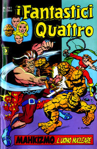 Cover Thumbnail for I Fantastici Quattro (Editoriale Corno, 1971 series) #161