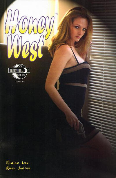 Cover for Honey West (Moonstone, 2010 series) #3