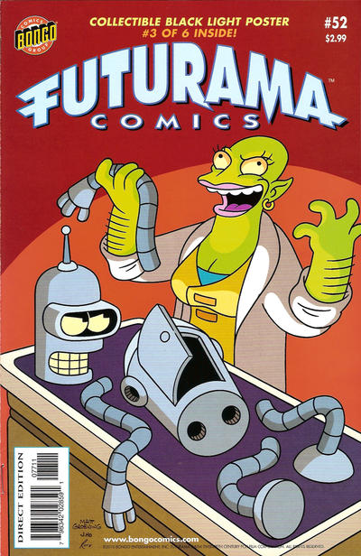 Cover for Bongo Comics Presents Futurama Comics (Bongo, 2000 series) #52