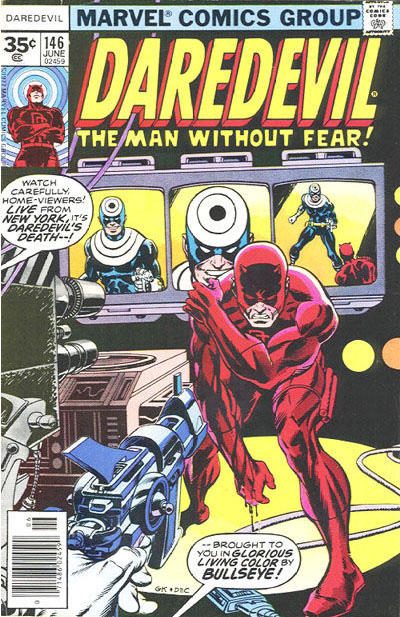 Cover for Daredevil (1964 series) #146 [35 cent cover price variant]