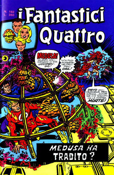 Cover for I Fantastici Quattro (Editoriale Corno, 1971 series) #162