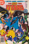 Cover for The New Teen Titans (DC, 1980 series) #4 [Newsstand]