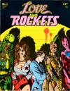 Cover for Love and Rockets (1982 series) #1 [Fifth printing]