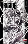 Cover Thumbnail for Ultimate Origins (2008 series) #1 [Variant Edition - Michael Turner Black-and-White]