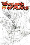 "Cover for Warlord of Mars (Dynamite Entertainment, 2010 series) #3 [""Black & White Art"" Jusko Retailer Incentive Cover]"