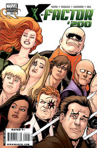 Cover for X-Factor (Marvel, 2006 series) #200 [David Yardin Variant Cover]