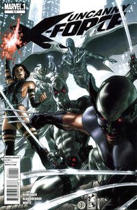 Cover Thumbnail for Uncanny X-Force (Marvel, 2010 series) #5.1