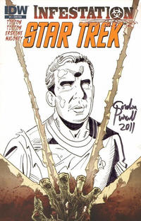 Cover Thumbnail for Star Trek: Infestation (IDW Publishing, 2011 series) #1 [Cover RI B]