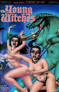 Cover Thumbnail for Young Witches III: Empire of Sin (Fantagraphics, 1998 series) #3