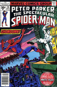 Cover Thumbnail for The Spectacular Spider-Man (Marvel, 1976 series) #10 [35 cent cover price variant]