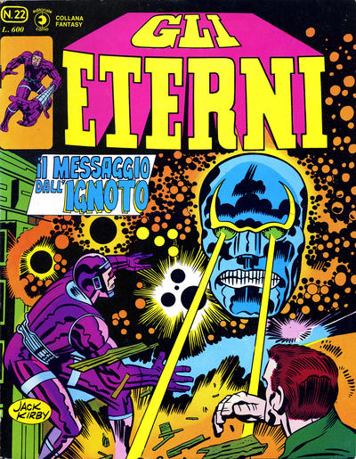 Cover for Gli Eterni (Editoriale Corno, 1978 series) #22