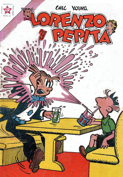 Cover for Lorenzo y Pepita (Editorial Novaro, 1954 series) #154