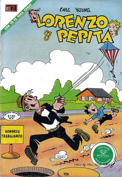 Cover for Lorenzo y Pepita (Editorial Novaro, 1954 series) #346