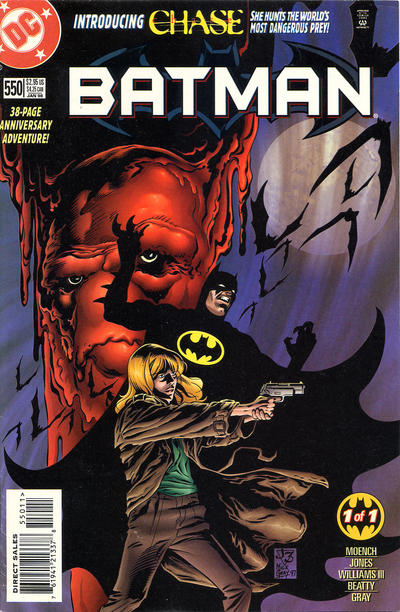 Cover for Batman (DC, 1940 series) #550 [3.50 USD Trading Cards]
