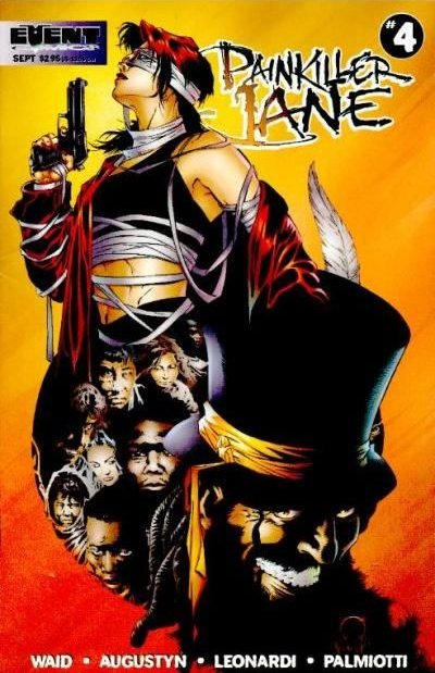 Cover for Painkiller Jane (Event Comics, 1997 series) #4 [Quesada Cover]