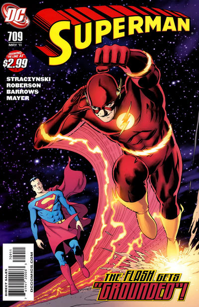 Cover for Superman (DC, 2006 series) #709 [Direct]