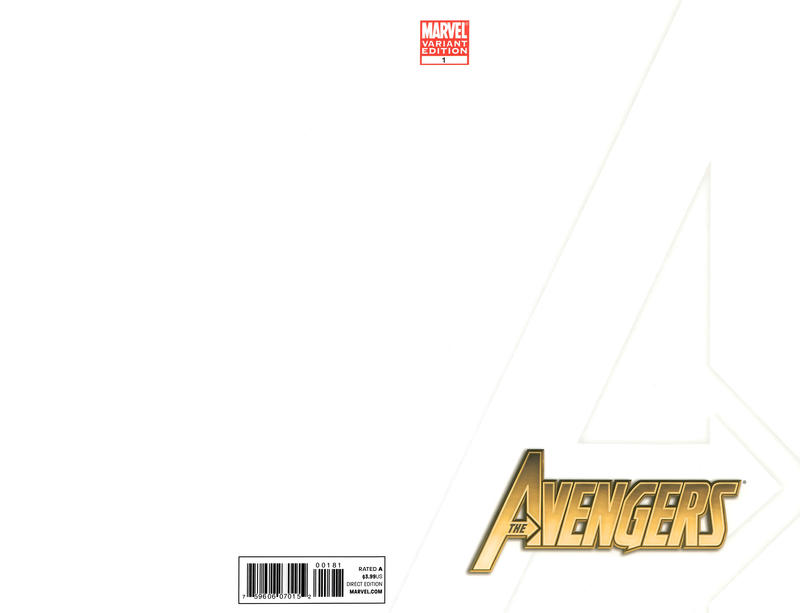 Cover for Avengers (Marvel, 2010 series) #1 [Standard Cover]