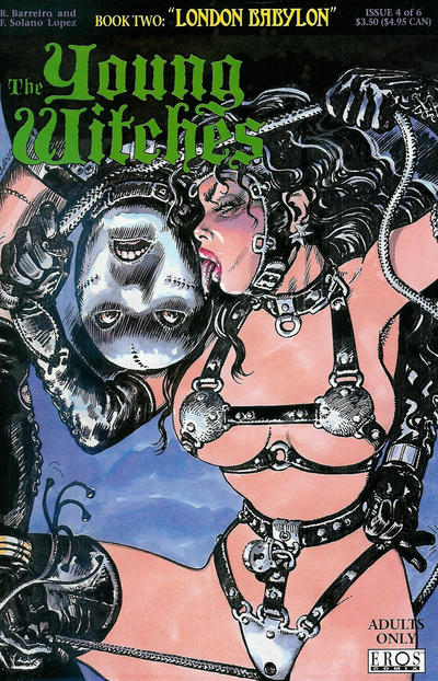 Cover for Young Witches: London Babylon (1995 series) #4