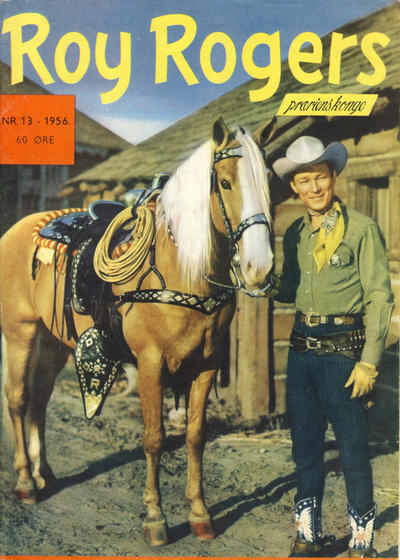 Cover for Roy Rogers (Se-Bladene, 1955 series) #13/1956