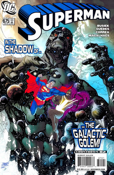 Cover for Superman (2006 series) #675
