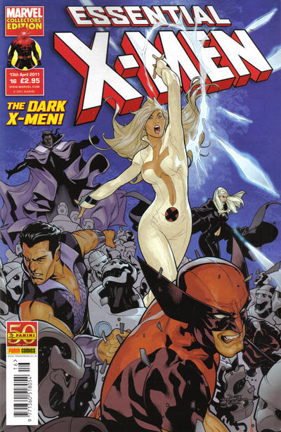 Cover for Essential X-Men (Panini UK, 2010 series) #16